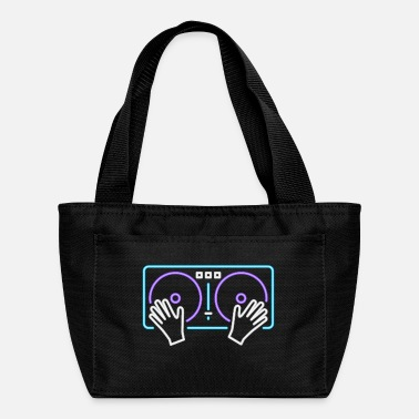 Deejay DeeJay Turntable Neon - Lunch Bag