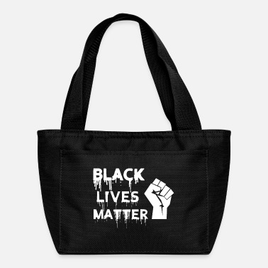 Black Lives Matter - Stop Racism - USA - BLM - Lunch Bag