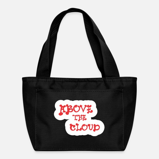 Clouds Bags & Backpacks - Above The Cloud - Lunch Box black
