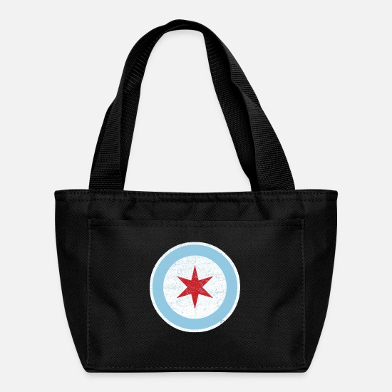 Police Bags & Backpacks - chicago police - Lunch Box black