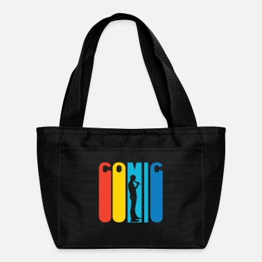 Stand Retro Stand Up Comic - Lunch Bag