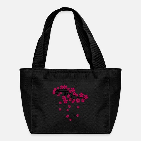 Cherry Bags & Backpacks - Cherry bloom visionnement de fleur Kirschblüten - Lunch Box black