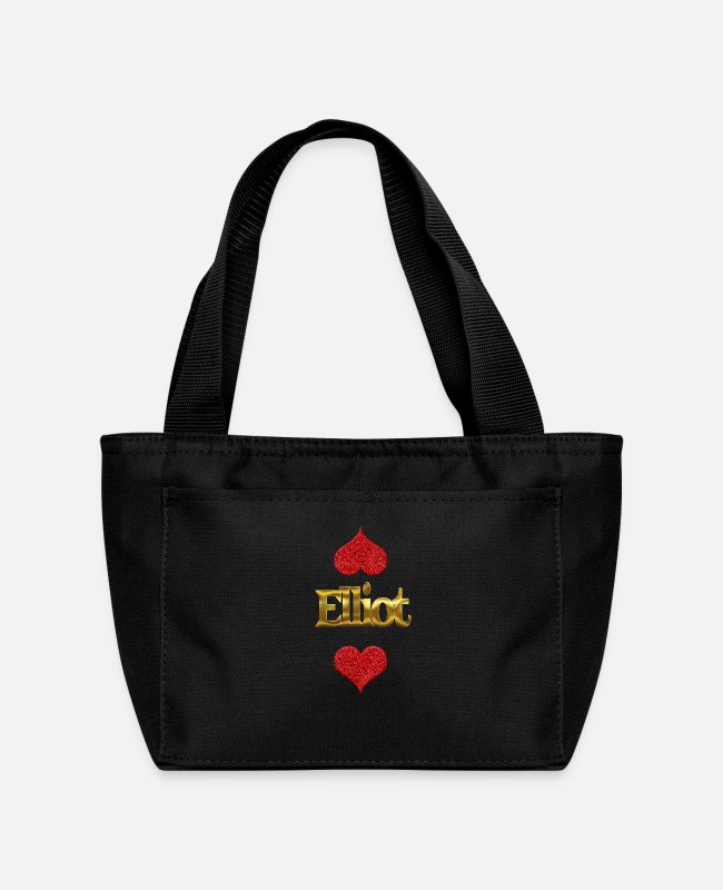 Elliot Birth Lunch Boxes - Elliot - Lunch Bag black