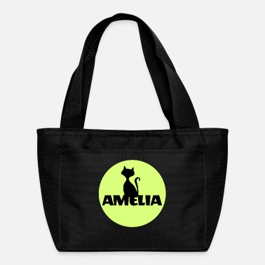 Name Amelia First name Name Name Motif Christening - Lunch Bag