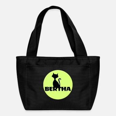 First Name Bertha name first name - Lunch Bag