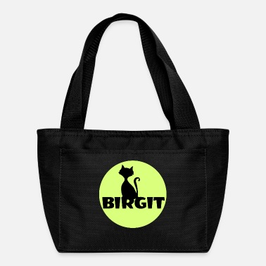 First Name Birgit Name first name - Lunch Bag
