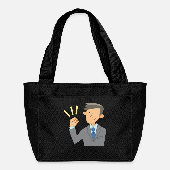 Ceo Bags & Backpacks - businessman geschaeftsmann business money96 - Lunch Box black