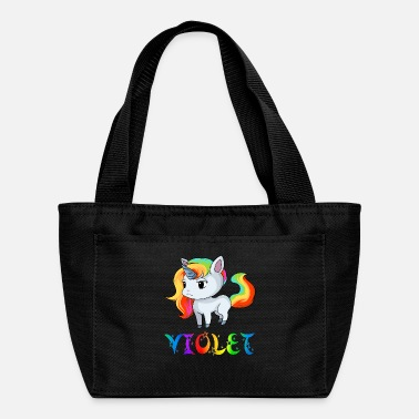 Violet Violet Unicorn - Lunch Bag