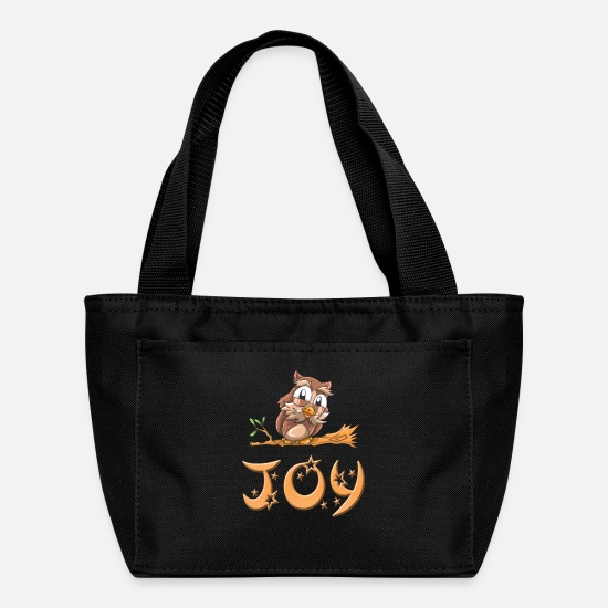Joy Bags & Backpacks - Joy Owl - Lunch Box black