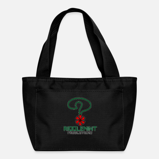 Riddlemint Bags & Backpacks - Riddlemint Productions - Lunch Bag black