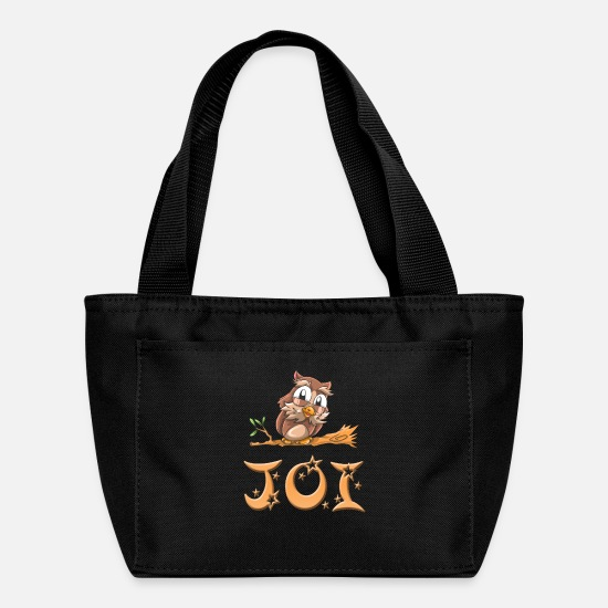 Joi Birthday Bags & Backpacks - Joi Owl - Lunch Box black