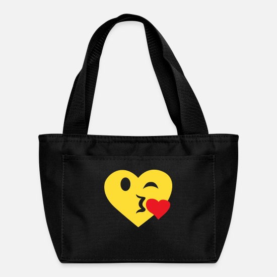 Love Bags & Backpacks - Love you - Lunch Box black