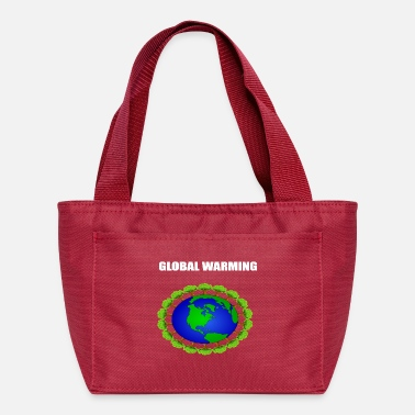 Warming global warming - Lunch Bag