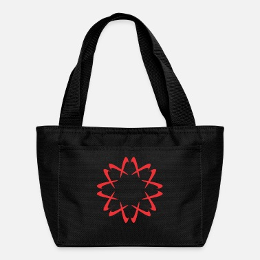 Circular Circular Red - Lunch Bag