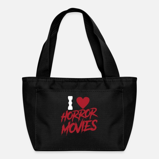 Zombie Apocalypse Bags & Backpacks - Horror movies junkie freak lovers horror movies - Lunch Box black