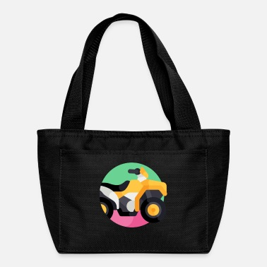 Vehicle vehicle illustration - Lunch Bag