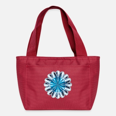 Ring Blue diamond ring - Lunch Bag