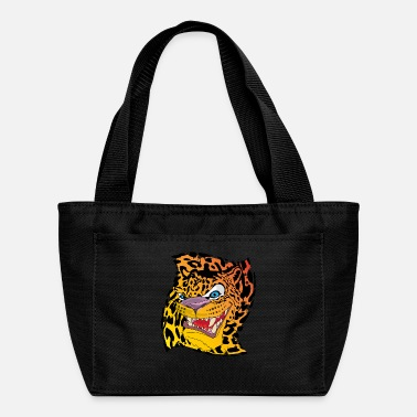 Leopard Leopard with a leopard background - Lunch Bag