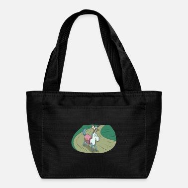 Horseriding Wooden horse at the race - Lunch Bag