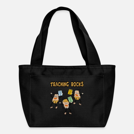 Education Bags & Backpacks - Teaching Rocks - Lunch Bag black