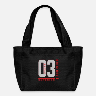 Jersey Number Jersey Number Original - Lunch Bag