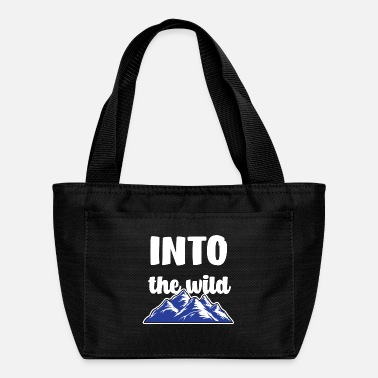 Motor Into the wild gift camp nature humor birthday - Lunch Bag