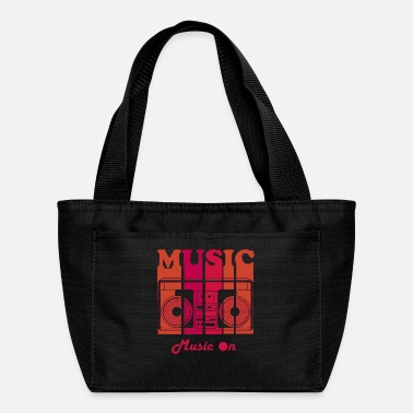 Artist Music on Title of Creativity Lettering Text Arts Q - Lunch Bag