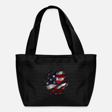 Motherly Love American Flag Inside - Lunch Bag