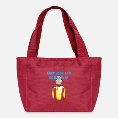 Keep Calm and Go Bananas - Lunch Bag