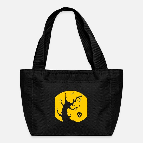 Zombie Apocalypse Bags & Backpacks - Happy Halloween - zombie - pumpkin - horror - Lunch Bag black