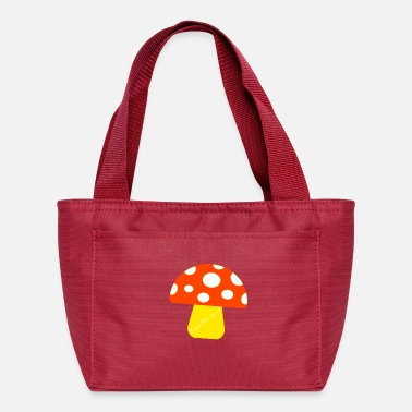 "Ramseys Retro Apparel ""Ramseys Mushroom"" - Lunch Bag"