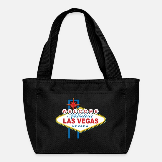Las Vegas Bags & Backpacks - Welcome to Las Vegas - Lunch Bag black