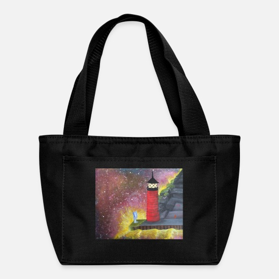 Love Bags & Backpacks - Edge of the World - Lunch Bag black