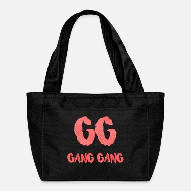 Gang Gang Gang Clothing - Gang Gang Logo - Lunch Bag