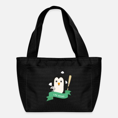 Baseball Penguin from LAS VEGAS Sfalu2 - Lunch Bag
