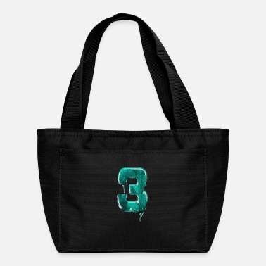 Jersey Number Jersey number 3 - Lunch Bag
