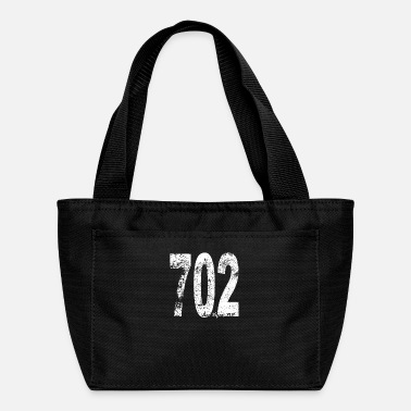 Vintage Las Vegas Area Code 702 - Lunch Bag