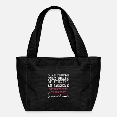 Occupation Occupational Therapist T Shirt - Lunch Bag