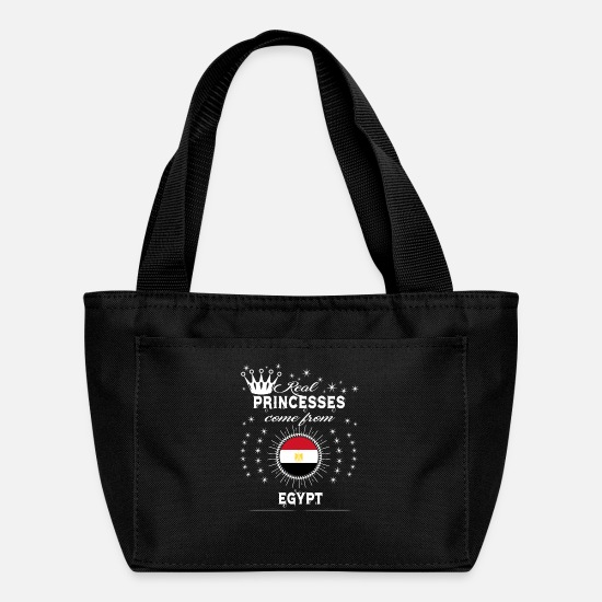 Love Bags & Backpacks - queen love princesses EGYPT - Lunch Bag black