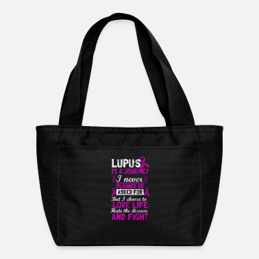 Lupus shirt for lupus awareness - lupus is a journey - Lunch Bag