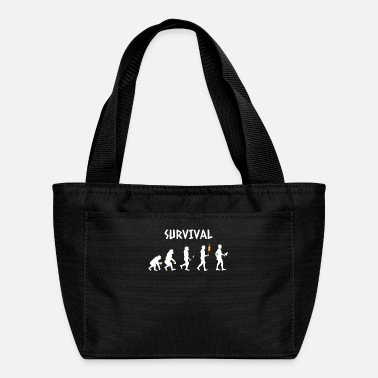 Evolution - Survival - Funny - Lol - Gift - Apes - Lunch Bag