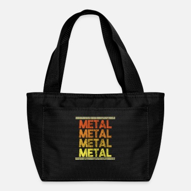 Metal Music Metal Music Shirt - Gift - Lunch Box