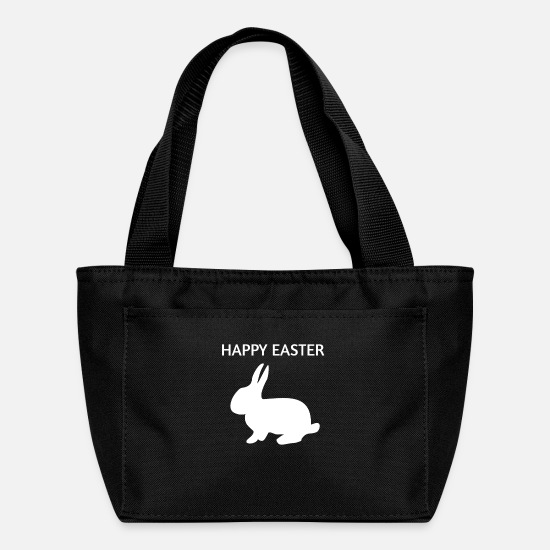 Easter Bags & Backpacks - Happy Easter Easter Bunny - Lunch Box black