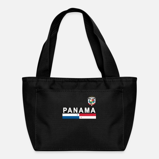Sports Bags & Backpacks - Panama sporty national design - Lunch Bag black