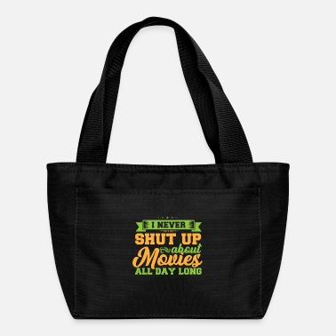 Movie Never Shut for Movies - Lunch Bag