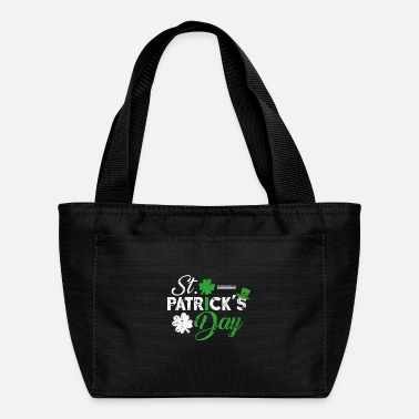 Luck Shamrock leprechaun gift happy - Lunch Bag