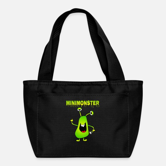 Humor Bags & Backpacks - Monster - Lunch Box black