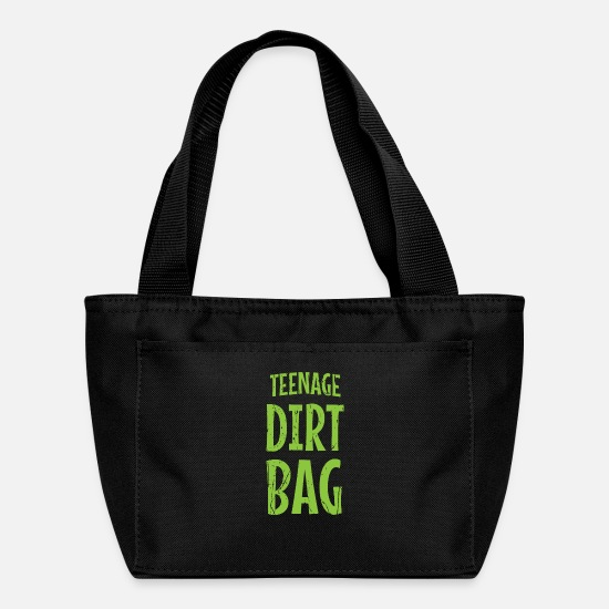 Dirtbag Bags & Backpacks - Teenage Dirtbag - Lunch Box black