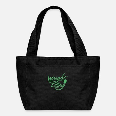 Lifting Weight Lifting Weight Lifting Weight Lifting - Lunch Bag