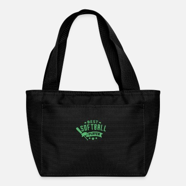 Softball Softballer - Lunch Bag